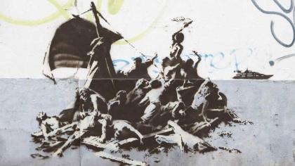 Sans titre (Banksy, Calais, 2015)