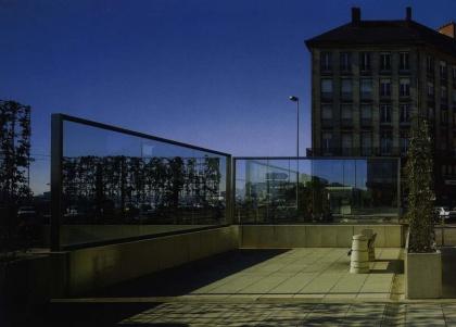 Nouveau Labyrinthe pour Nantes (Dan Graham)