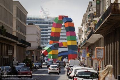 Catène de Containers (Vincent Ganivet)