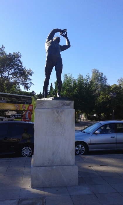 Le Discobole (Konstantinos Dimitriadis)