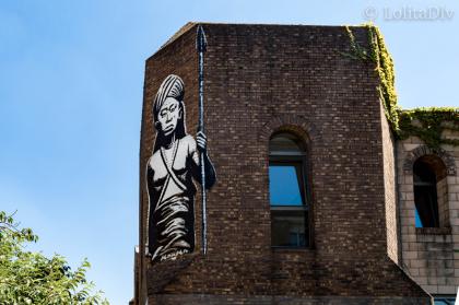 Oeuvre Street art – 14'Arts (Kouka)