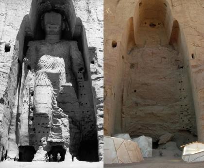 Bouddhas de Bâmiyân (artistes inconnus)